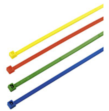 colouredcableties